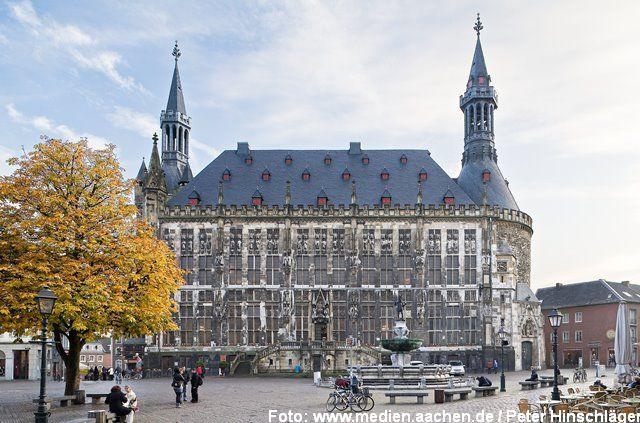 Seminarort Rathaus Aachen (Krönungssaal) Bild