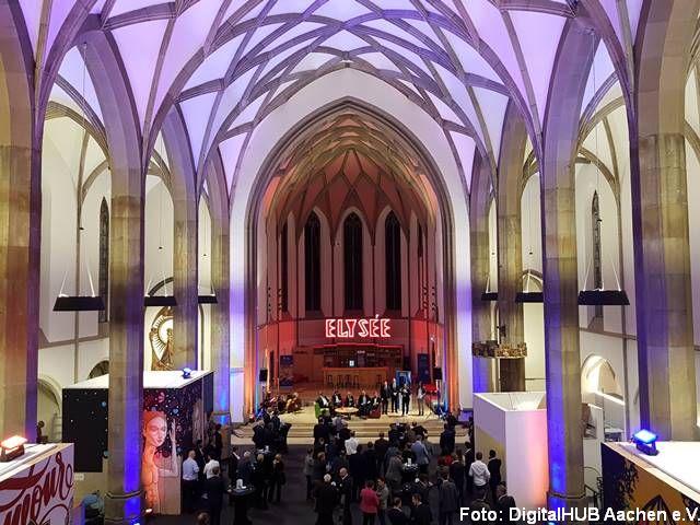 Seminarort digitalHUB Aachen e.V. in der digitalCHURCH Bild